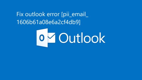 Error [pii_email_1606b61a08e6a2cf4db9]? Solution to problem.